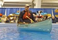 Toronto outdoor adventure in a pool dog trotting for Pool show toronto