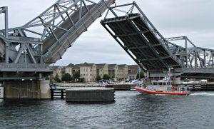 Lift bridge in Door County, WI