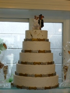 Doggie Wedding Cake at Spoil the Dog Bakery