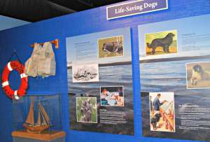 Sea Dogs exhibit at Door County Marine Museum, WI