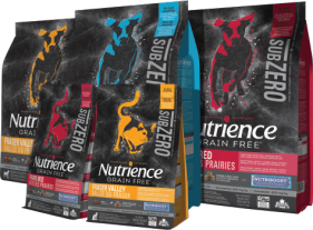 Nutrience SubZero Canadian-made premium pet food