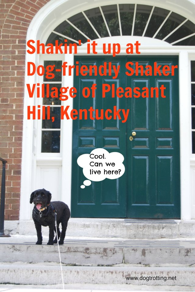 Dog-friendly Shaker Village Kentucky