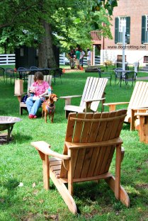 Dog friendly Shaker Village Kentucky dogtrotting.net