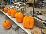 Folk Art Pumpkins at Knoebels Amusement Report