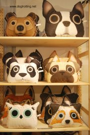 dog pillows from one-of-a-kind