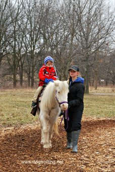 pony rides at Maple Syrup Festival Bronte Creek Provincial Park