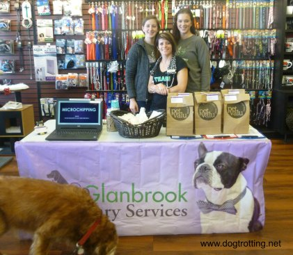 The team at Glanbrook Veternary Services offering microchipping and nail trims