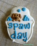 dog spa cookie on dogtrotting.net