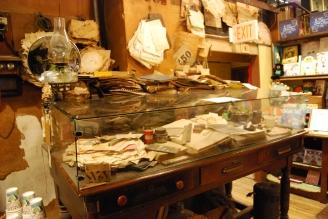 Historic Desk inside Harrison Hardware Huntsville, Alabama