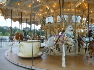 Carousel at Bridge Street Town Center, Huntsville, Alabama