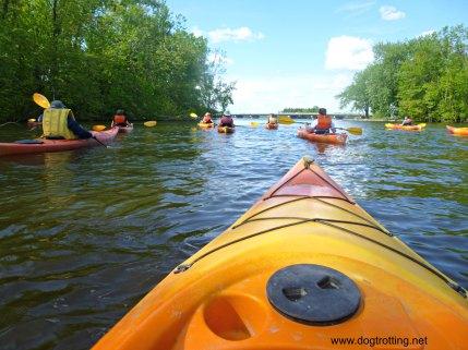kayaking in Laval, Quebec