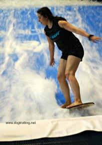 surfinging in Laval, Quebec