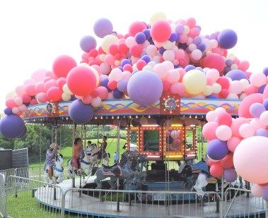 Carousel at Dog Tales Festival 2017 www.dogtrotting.net