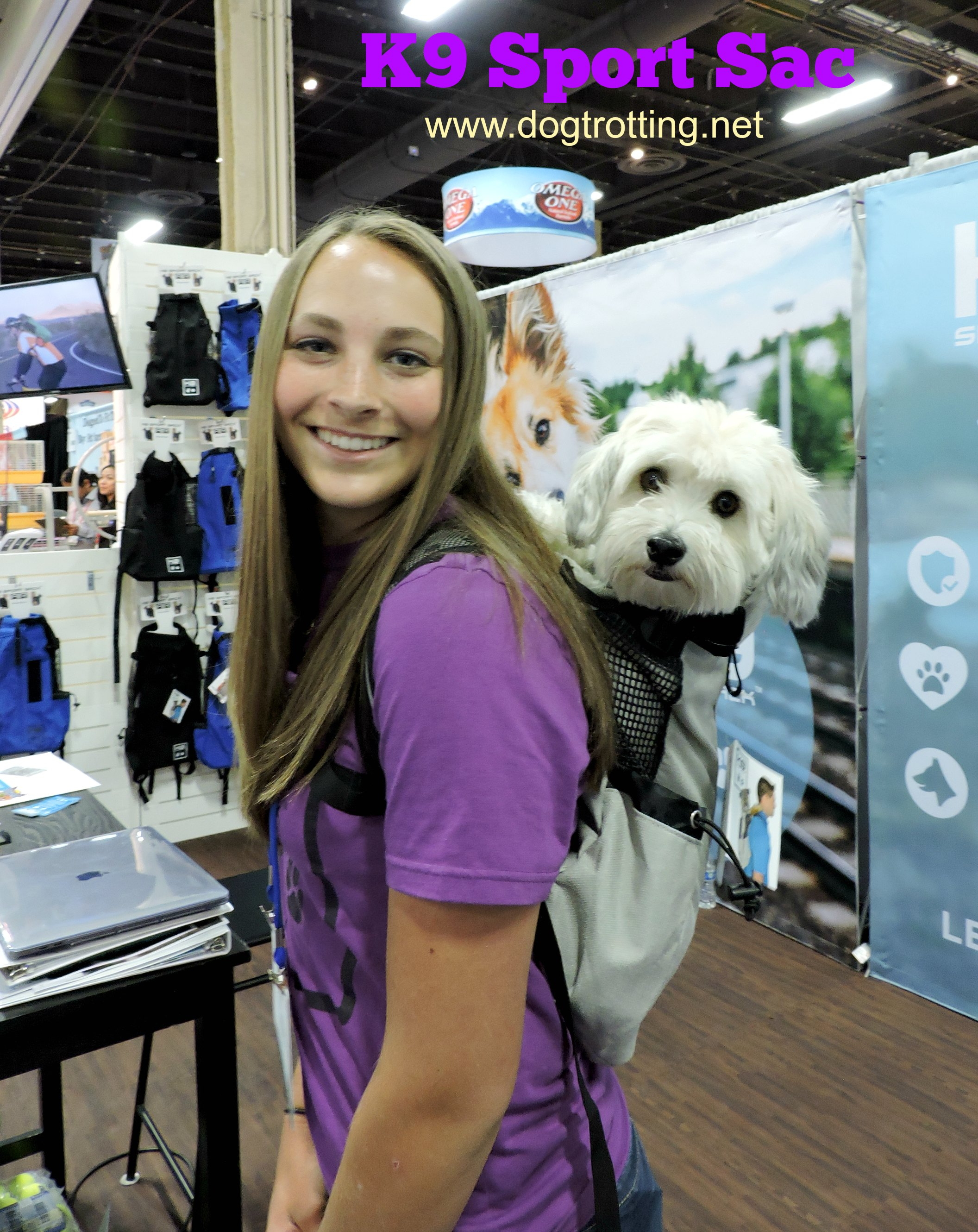 Get Out with the Dog: K9 Sport Sack, The Canadian Pet Expo & Problem Solving Success