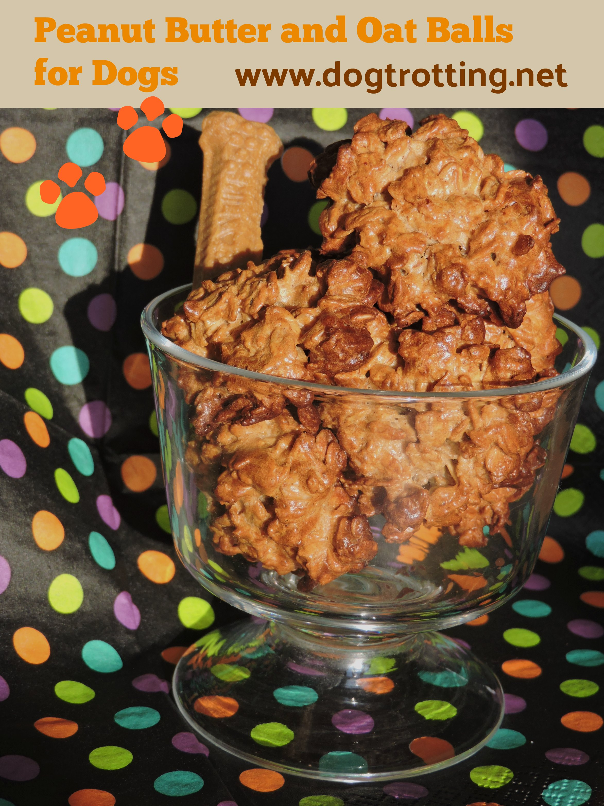 peanut butter and oat balls for dogs recipe