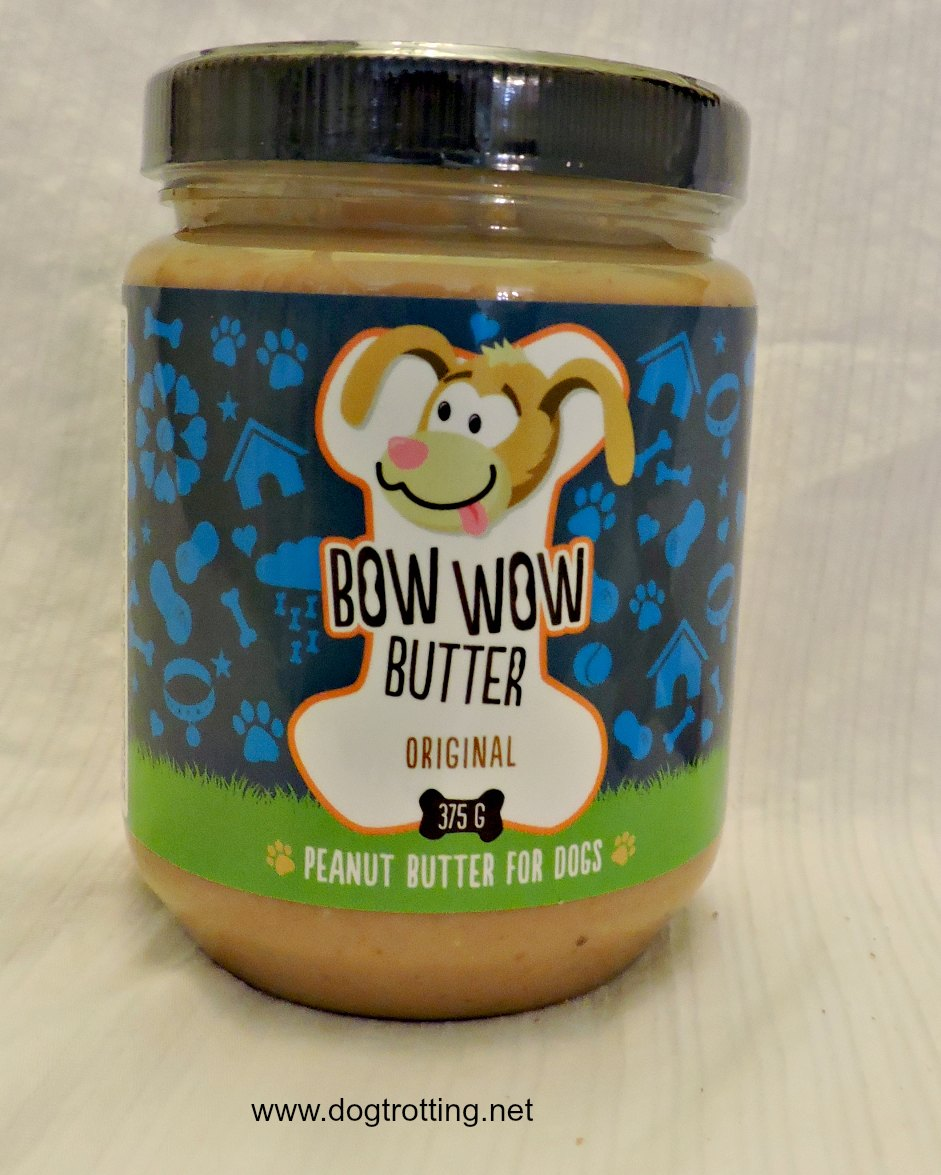 Bow Wow Butter - dog peanut butter