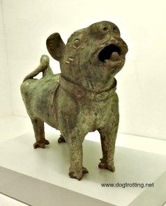 chinese dog statue