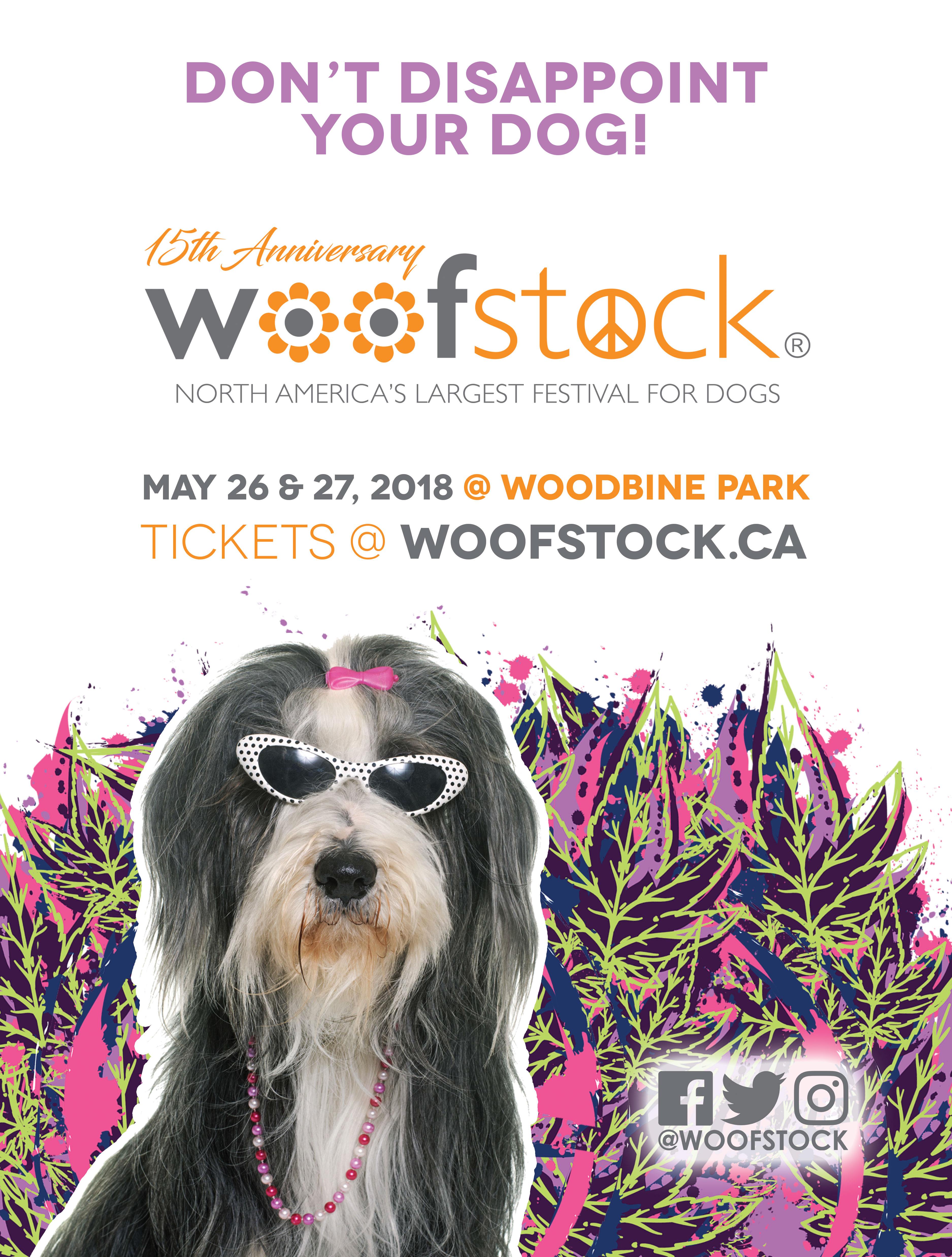 Countdown to Woofstock 2018
