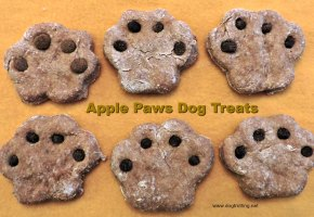 apple paws dog treats ... recipe