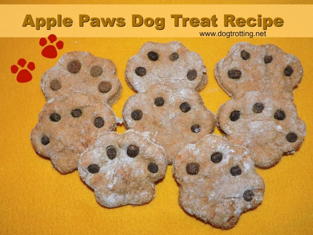 apple paws dog treats ... recipe
