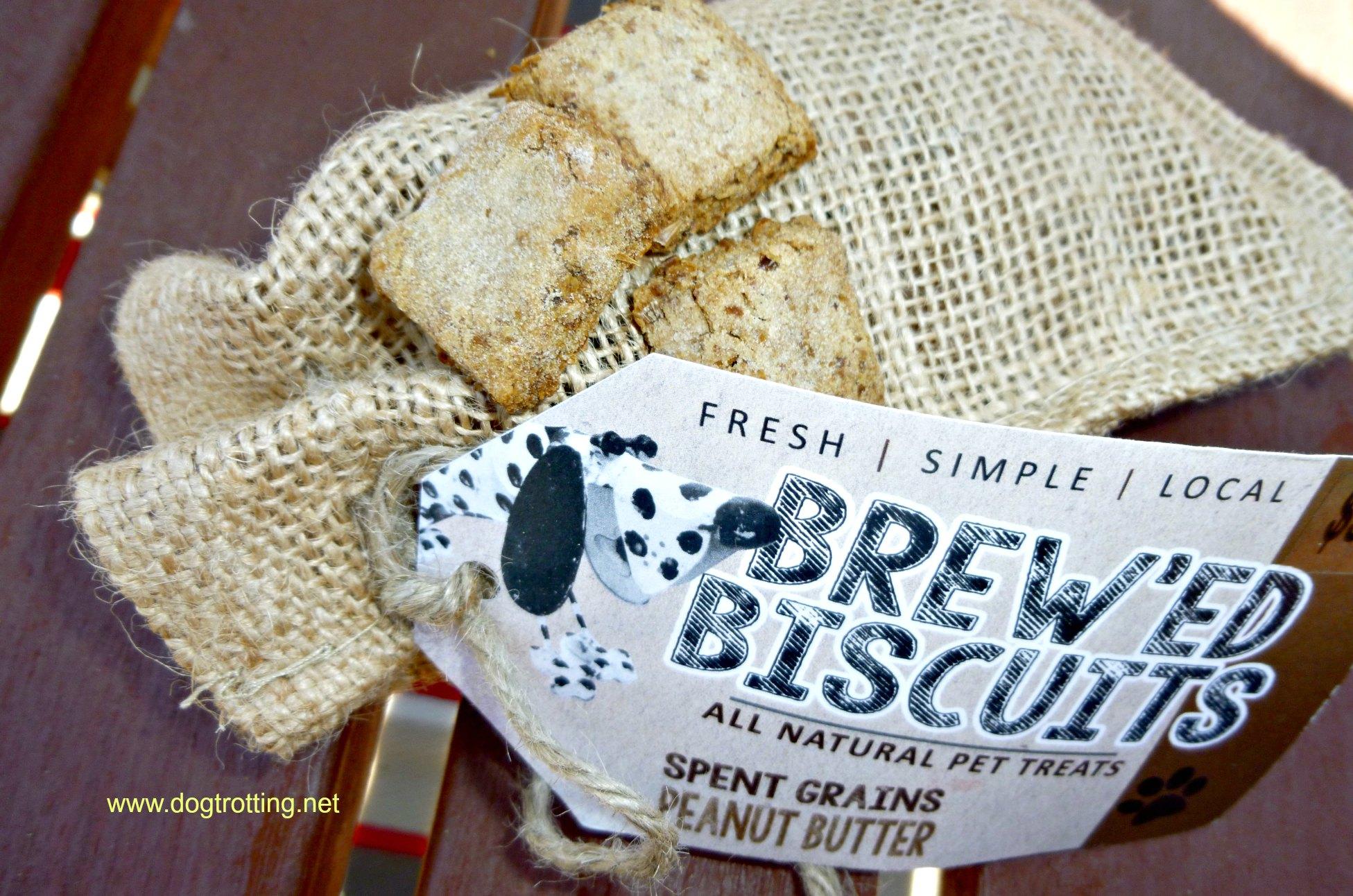 Brew'ed biscuits pet treats