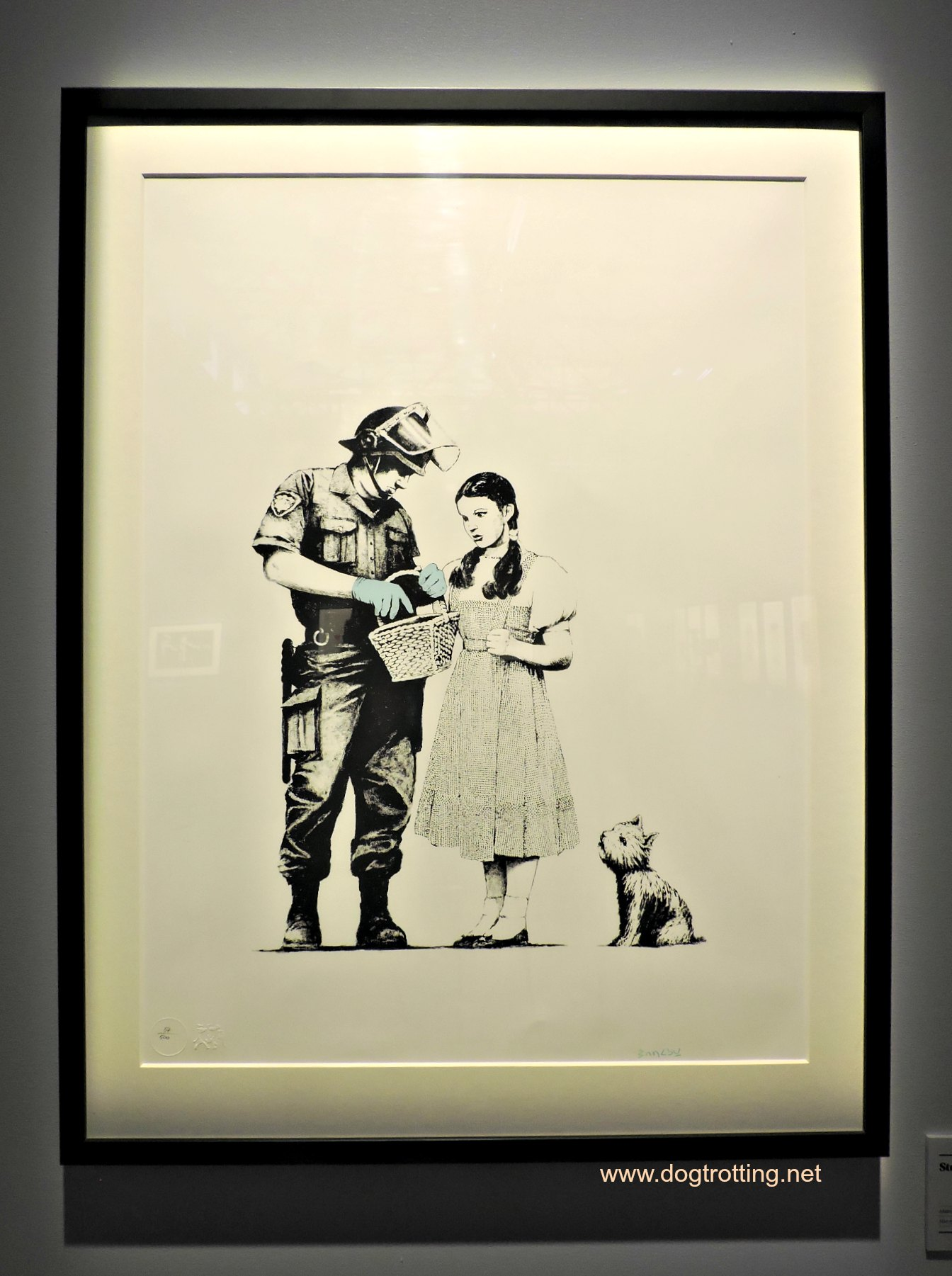 And Your Little Dog Too… The Art of Banksy, Toronto, ON | Dog Trotting