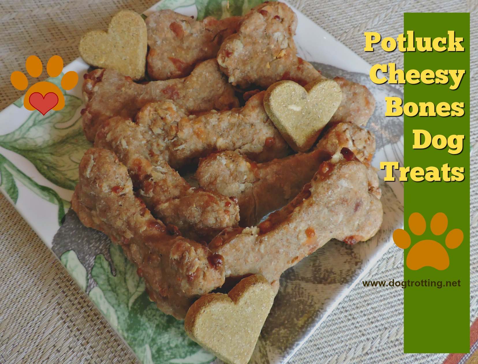 Recipe: Cheesy Potluck Doggie Cookies