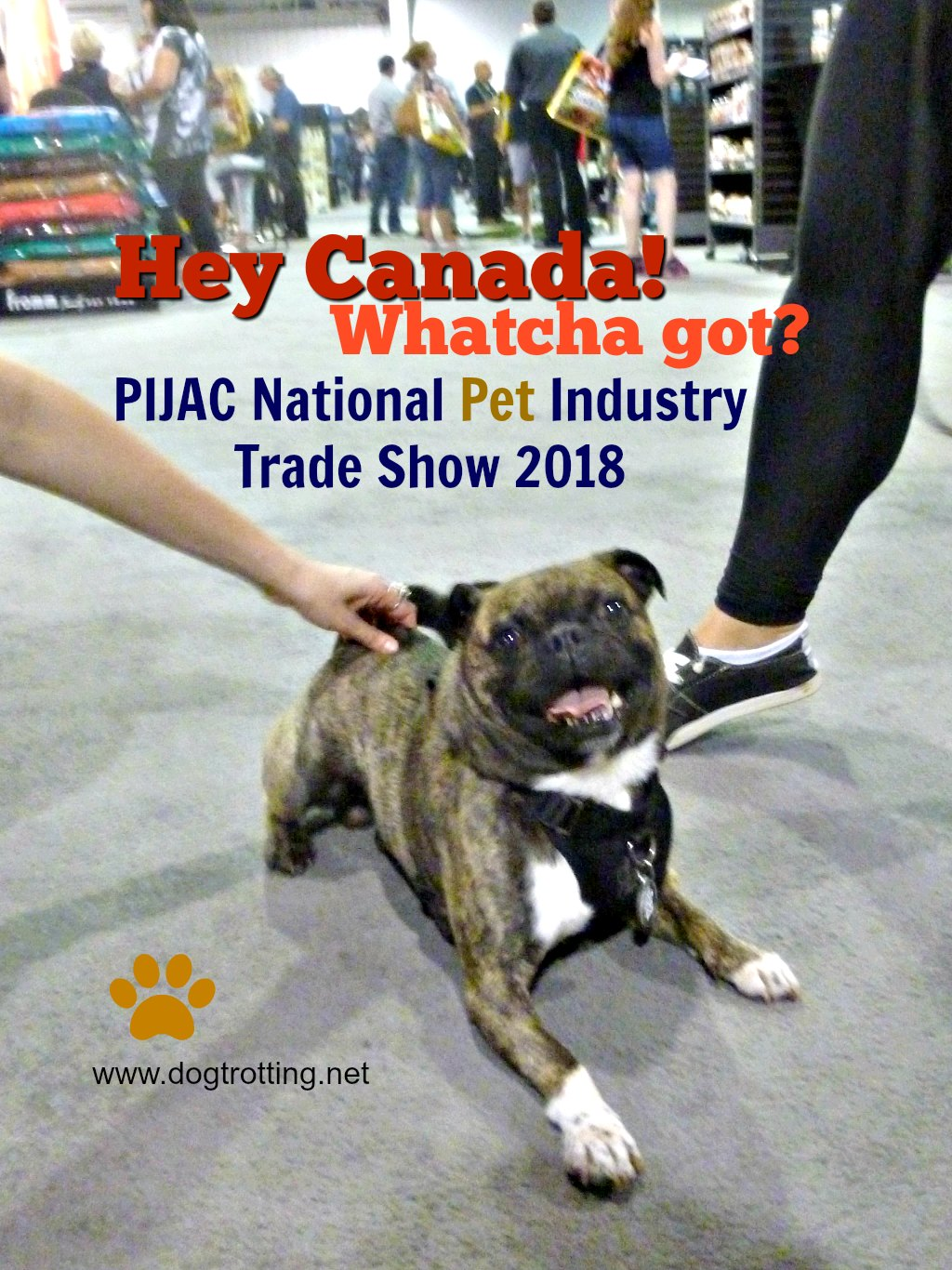 Oh Canada … PIJAC National Pet Industry Trade Show. Woof.
