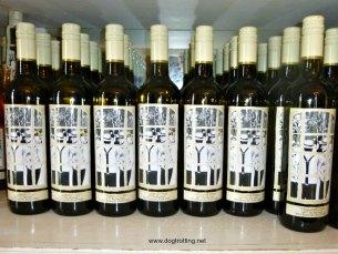 Organized Crime wine bottles