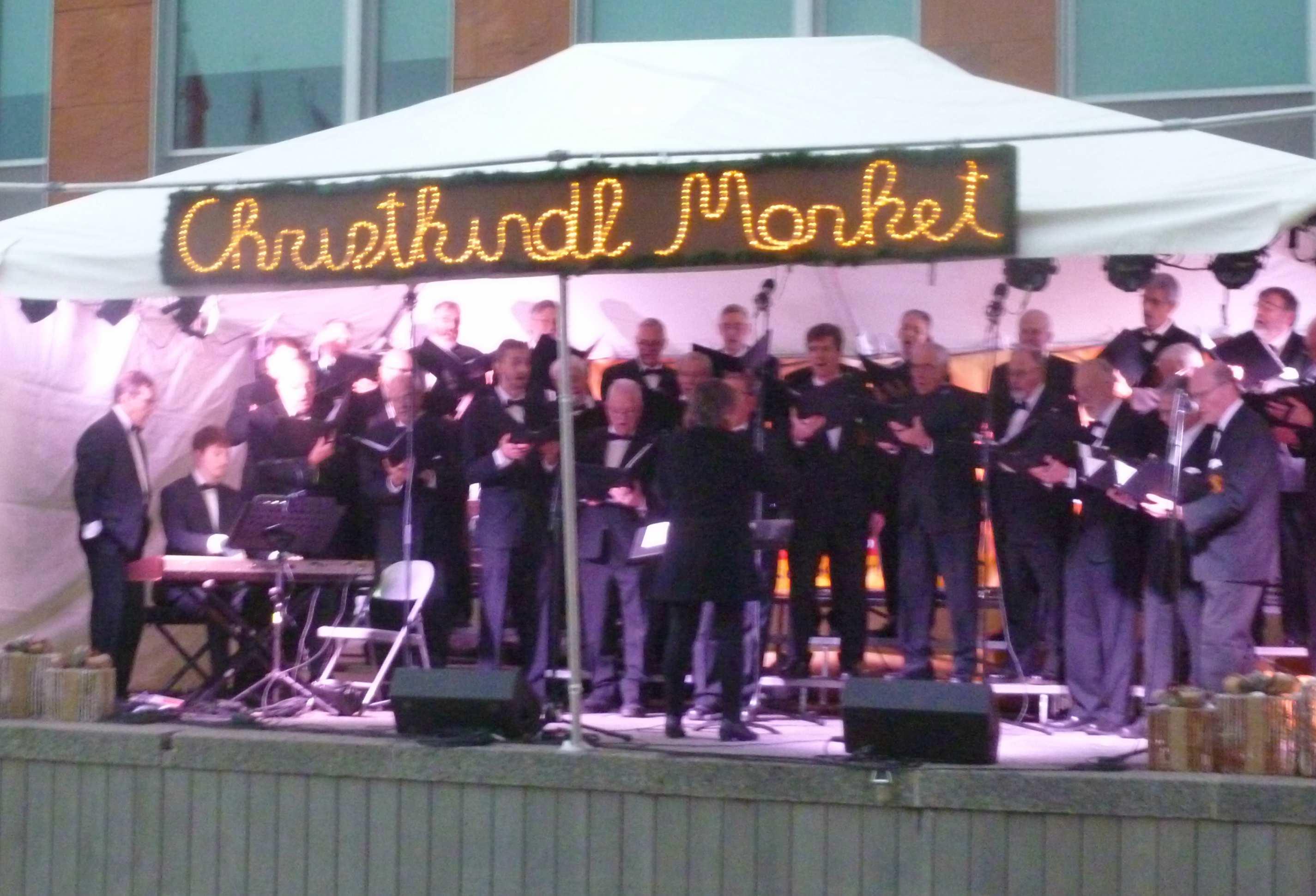 Choir at Kitchener Christmas Market