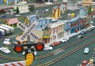 Model Trains at Kitchener Christmas Market
