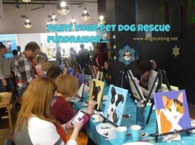 paint your pet fundraiser