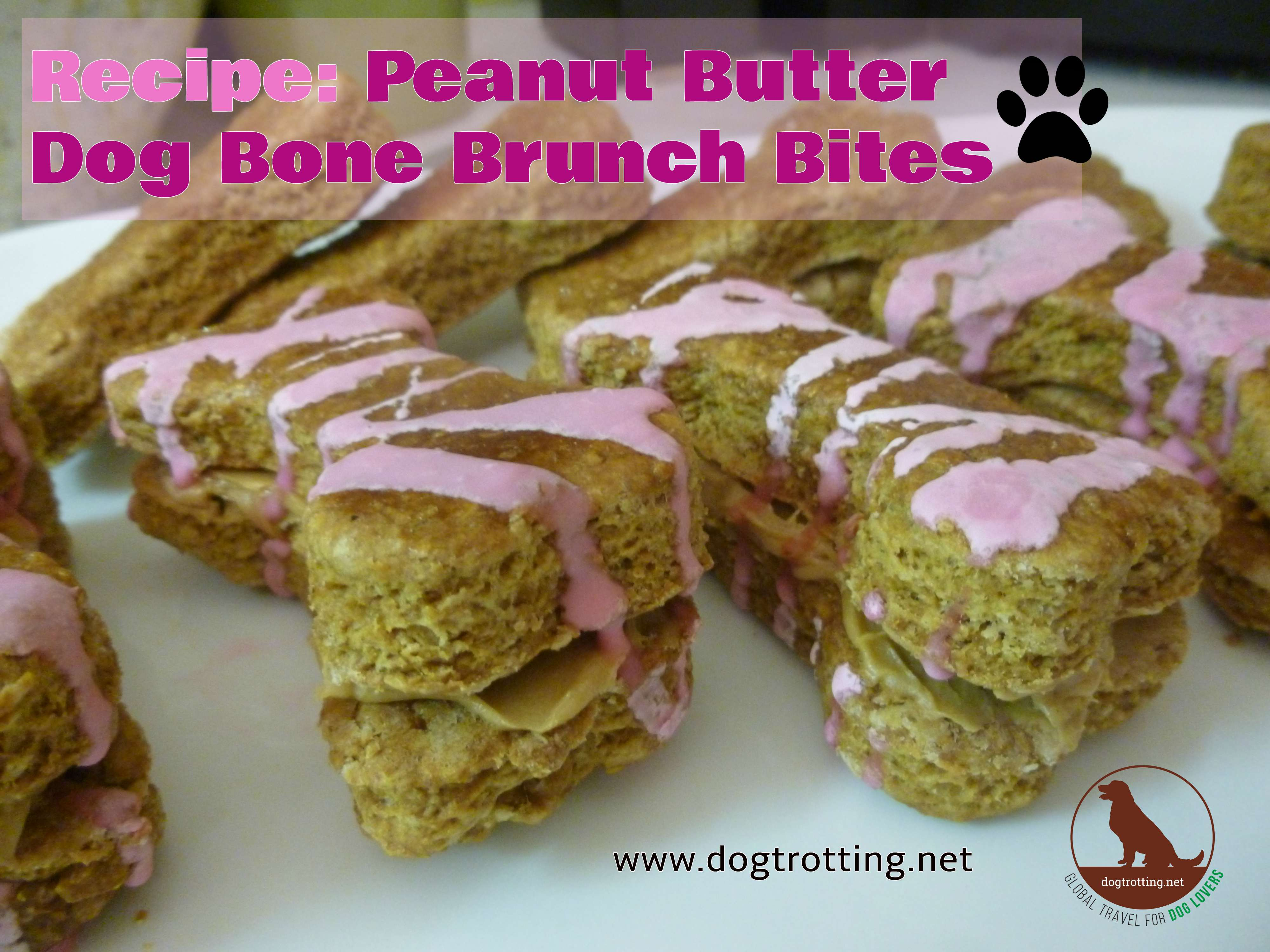 Recipe: Peanut Butter Dog Bone Brunch Bites
