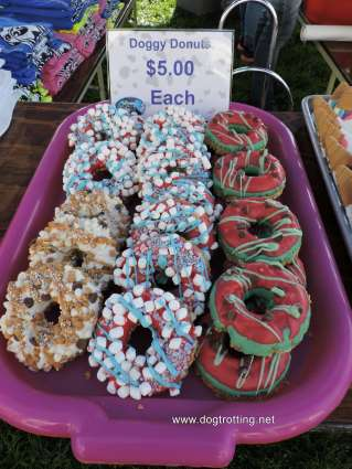 doggy donuts from Dog Bowl 2019 Frankenmuth, Michigan