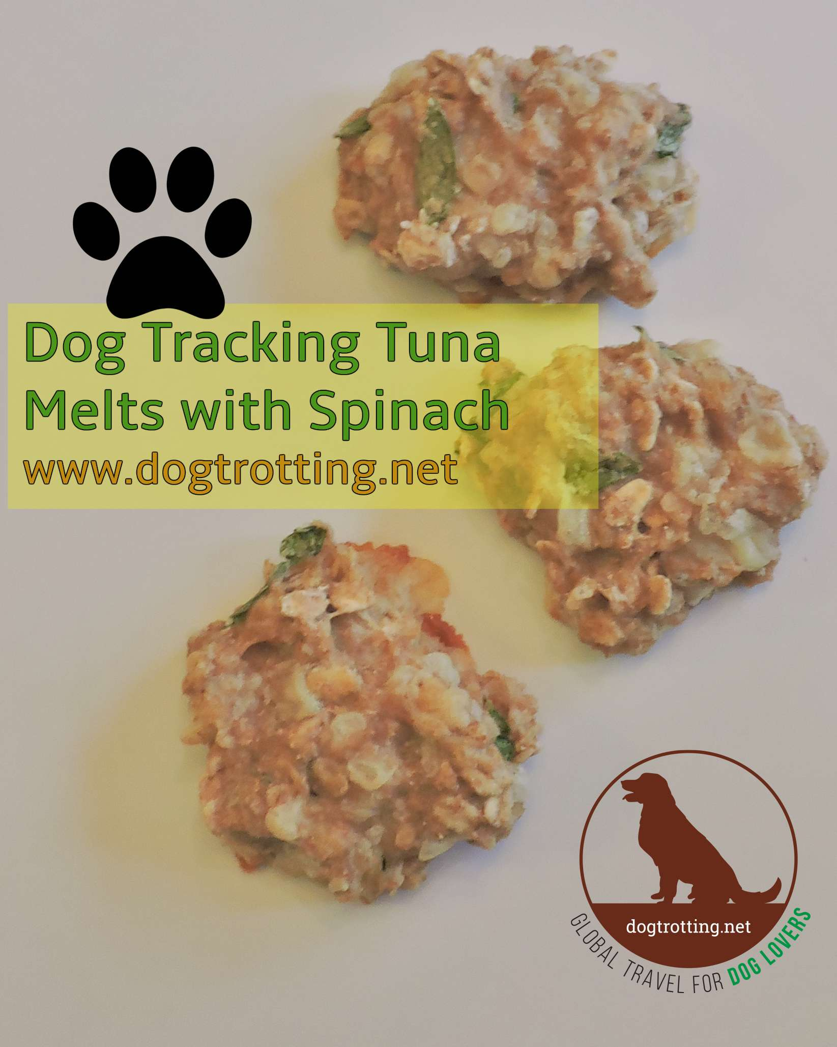 Recipe: Dog Tracks Tuna Melts … with Spinach