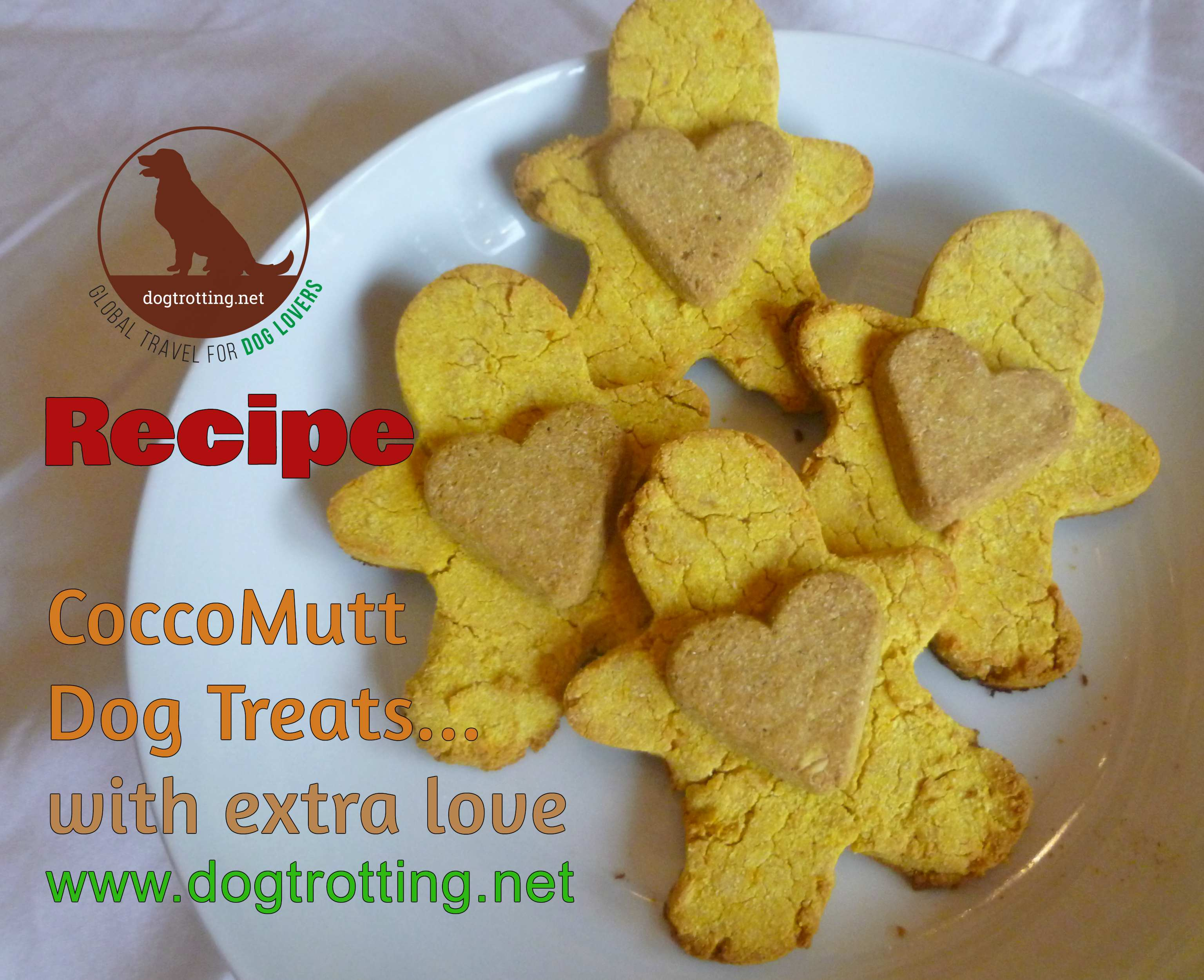 Recipe: CocoMutt Dog Treats … with turmeric
