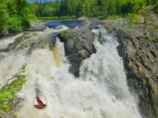 waterfall at Chutes Provincial Park, Ontario