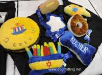 jewish themed dog toys