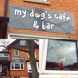my dogs cafe