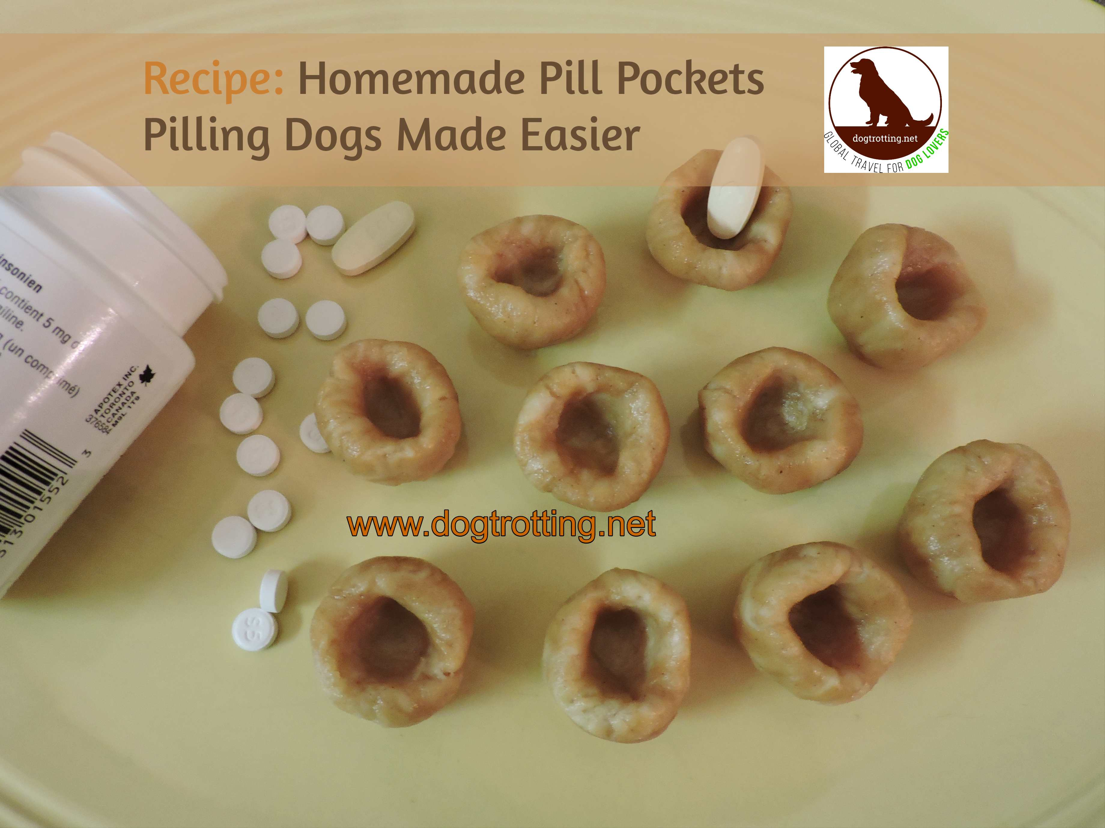 Recipe: Homemade Dog Pill Pockets