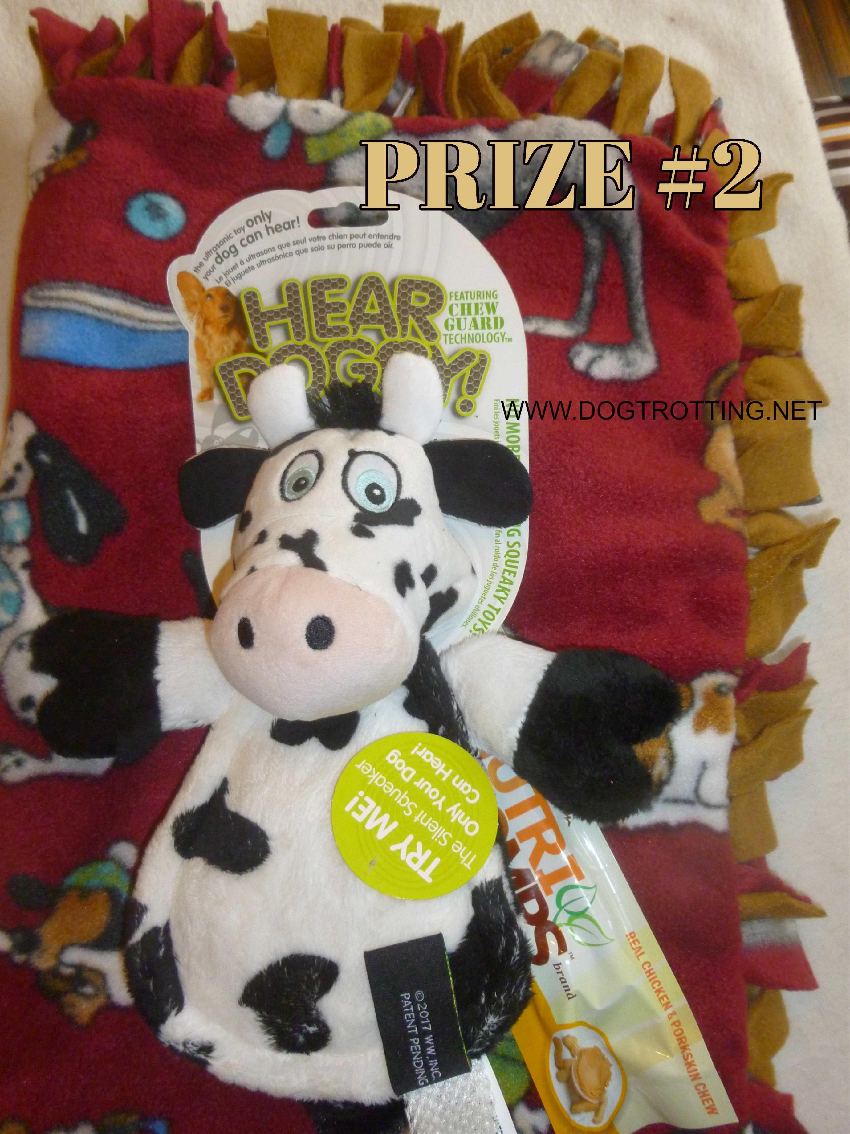 cow Hear Doggy dog toy
