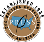 logo for dog writers association