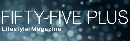 logo for Fifty-Five Plus magazine