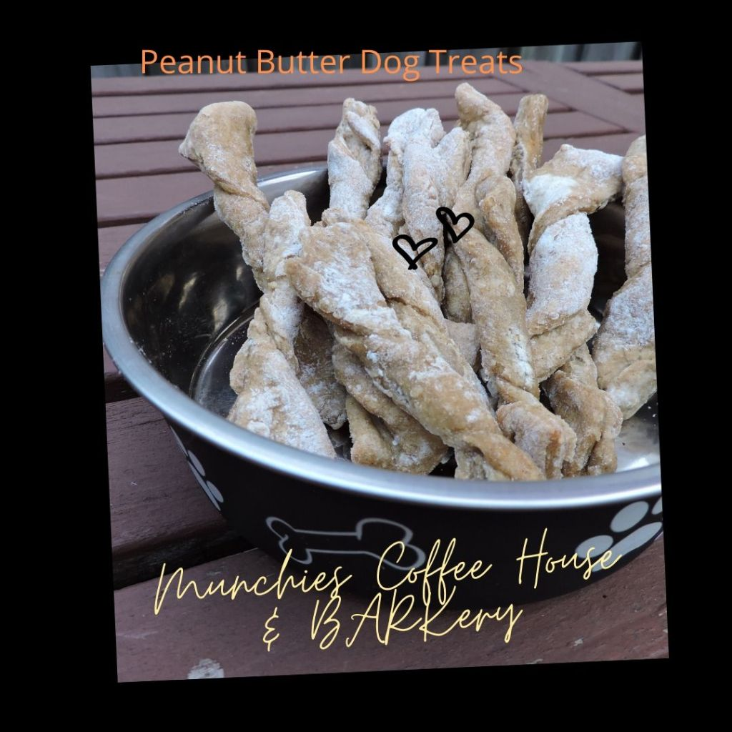 Peanut Butter Dog Treats from Munchies Coffee House and Barkery in Hamilton Ontario