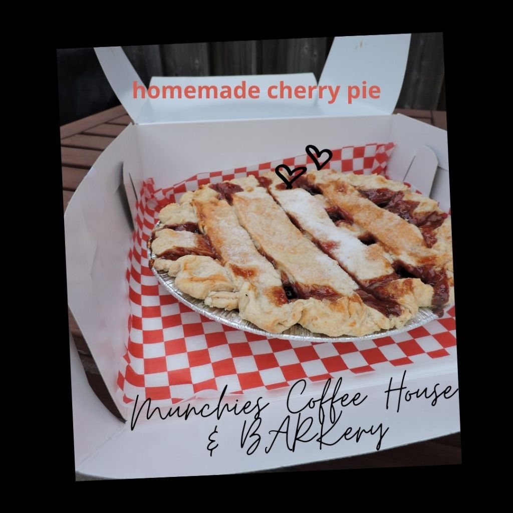 Cherry Pie from Munchies Coffee House and Barkery in Hamilton Ontario