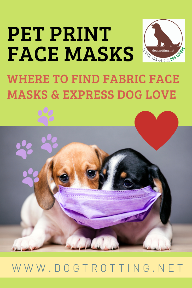 Where to find Pet Print Fabric Face Masks: Express Your Dog Love